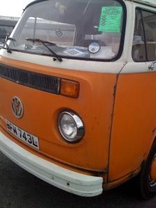 Yes, it's orange, it's beautiful!